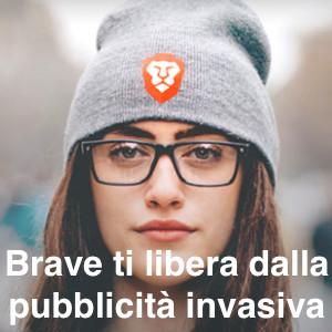 Brave ti libera dalla pubblicità invasiva